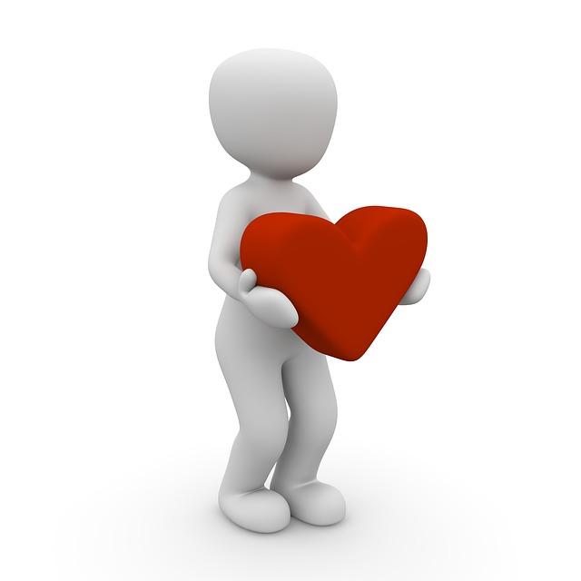 Mannequin Herz Geben Grafik
