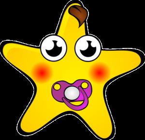 Baby Stern Gelb