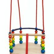 Hess Holzspielzeug 31103 - Gitterschaukel 2