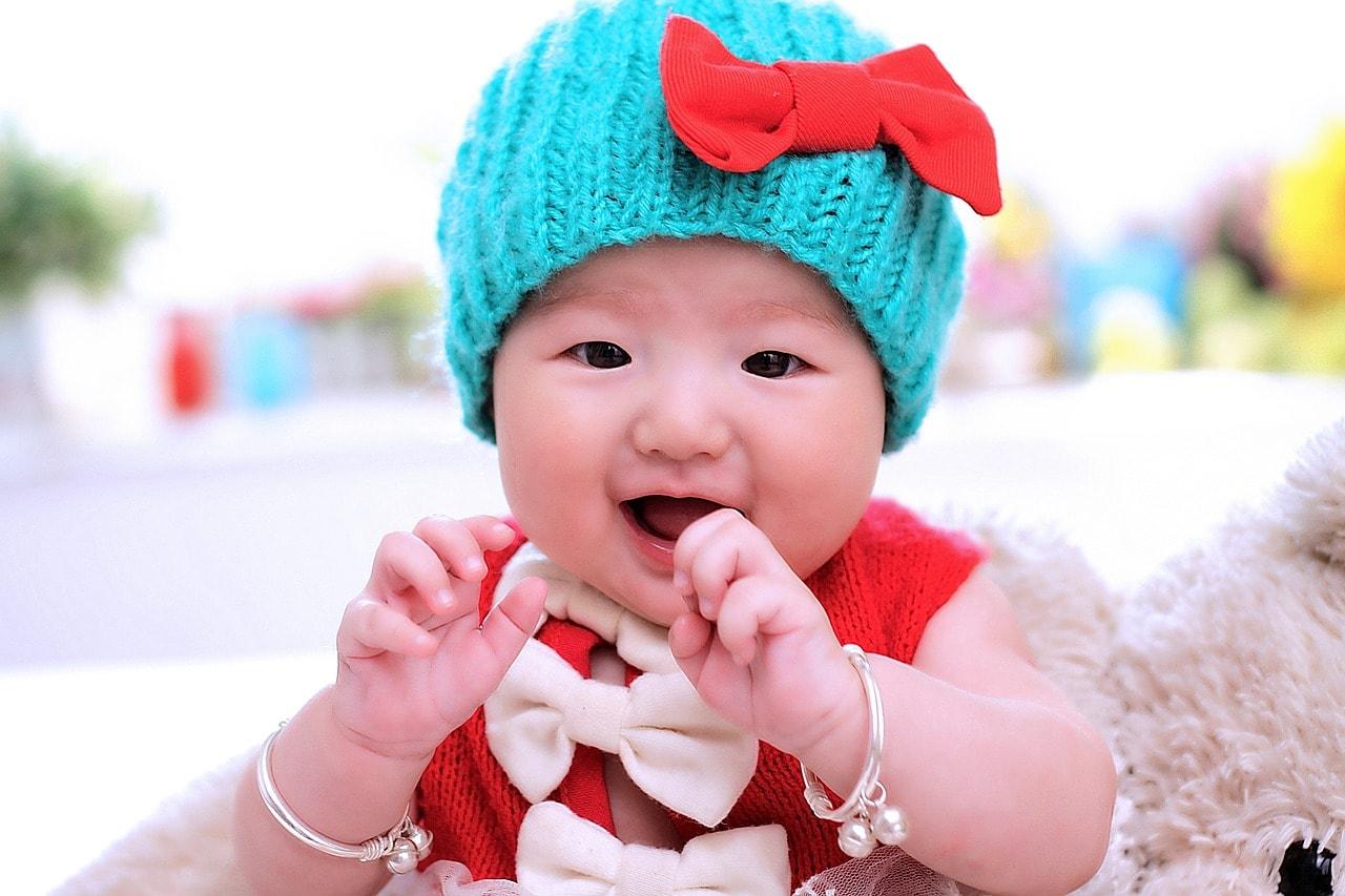 Baby froh Mütze